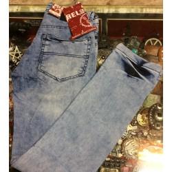 jeans relco marmorizzato