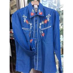 texana blu fiori red star