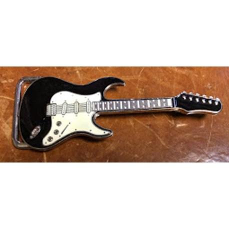chitarra nera/bianca