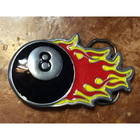 fibbia palla 8 fiamme